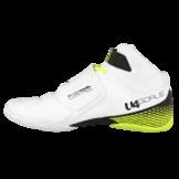 Unihoc U4 Goalie (18) (Valkoinen Neon Keltainen) - Maalivahdin kengät 02663607da