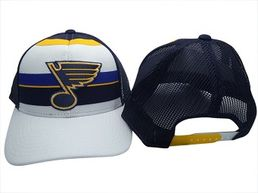 Reebok NHL St. Louis Blues Structured Snapback  -lippis
