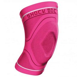 Shock Doctor CompressionKnit Knee Sleeve with Gel 2065 -geelipolvituki