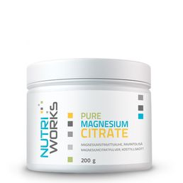 Nutri Works Pure Magnesium Citrate 200g