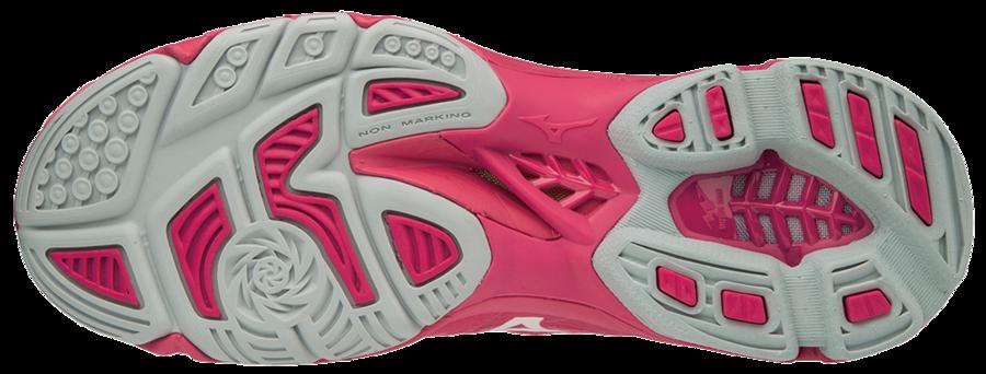 Mizuno Wave Lightning Z4 MID (18) Pinkki -sisäpelikenkä 8ffa8afcb0