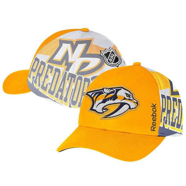 Reebok NHL Nashville Predators Structured Snapback -lippis ... 6ffbdfa05d