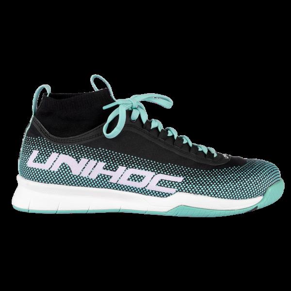 Unihoc U4 MidCut (18) Sisäpelikenkä Turkoosi 56c234c98a