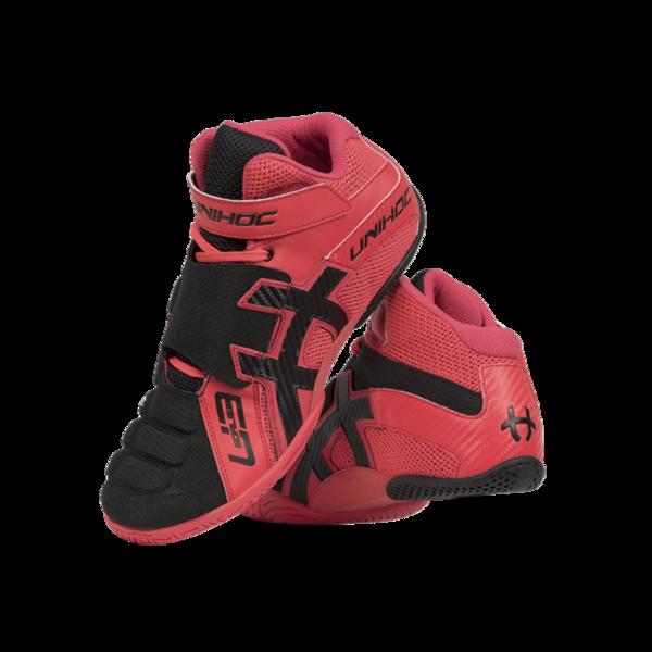 Unihoc U3 Goalie (Punainen Musta) - Maalivahdin kengät c306888fa3